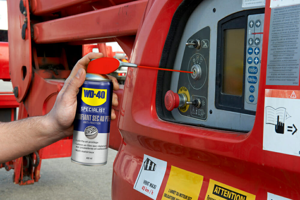 web size wd 40 specialist droogsmeerspray met ptfe