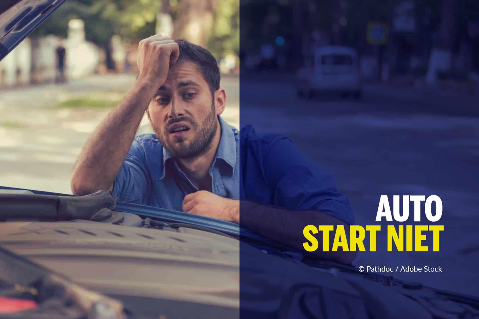 Auto start niet