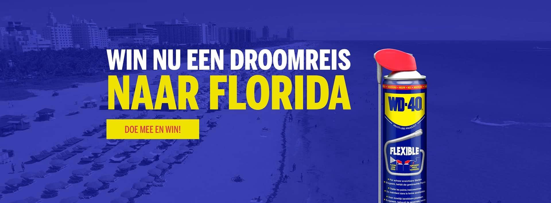 WD-40 geeft een droomreis naar Florida weg: WD-40 smeermiddelen en onderhoudsproducten