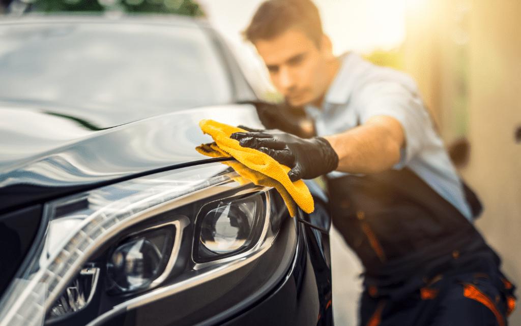 Onderhoud auto schoonmaken