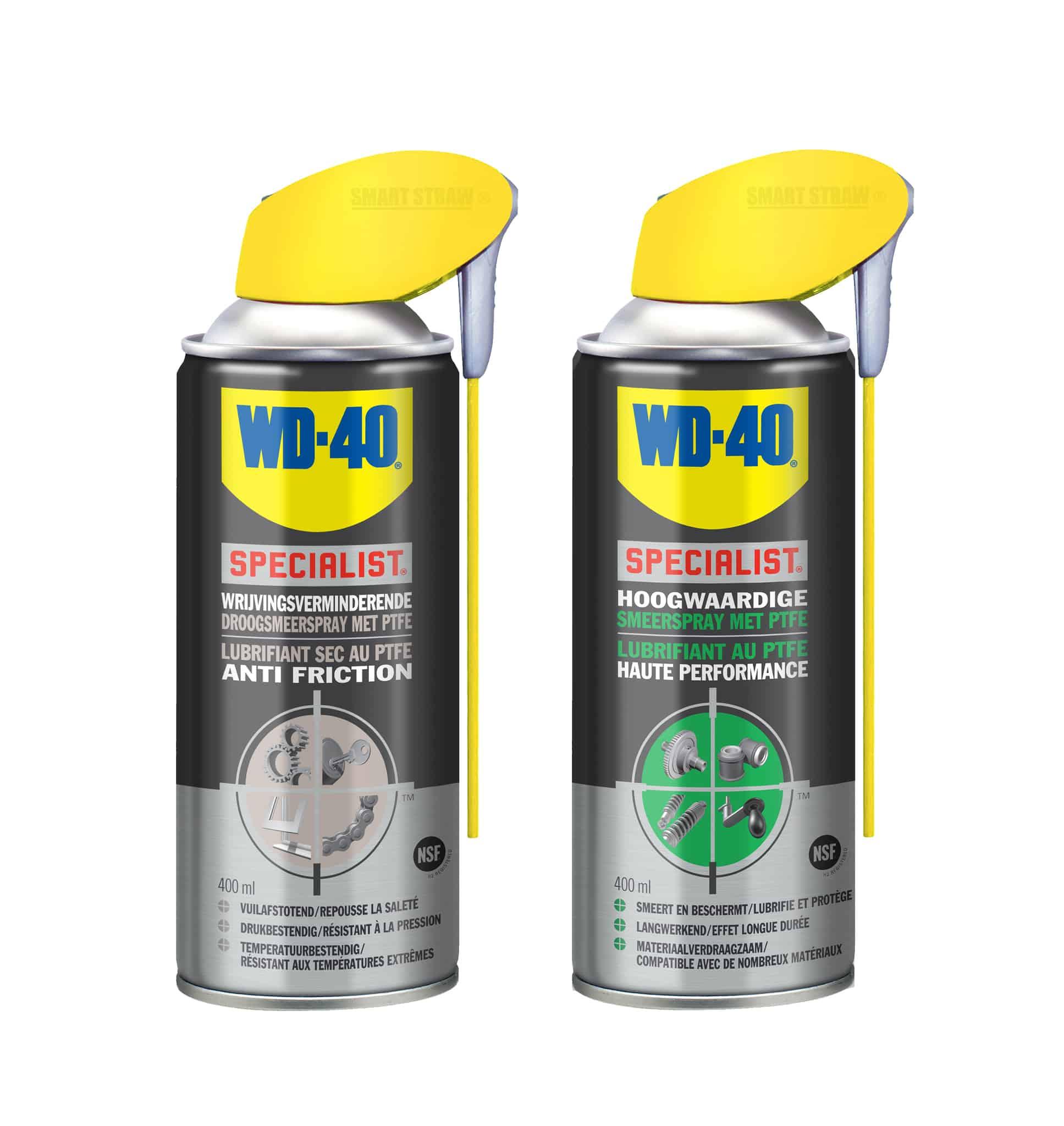 droogsmeerspray smeerspray teflon en PTFE teflonspray